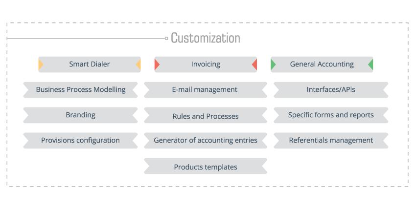 Software Technology Customization Scheme
